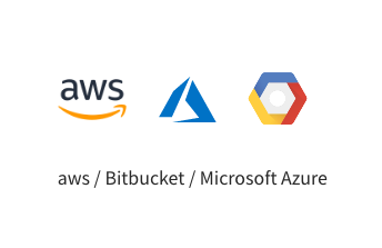 aws/Birbucket/Microsft Azure